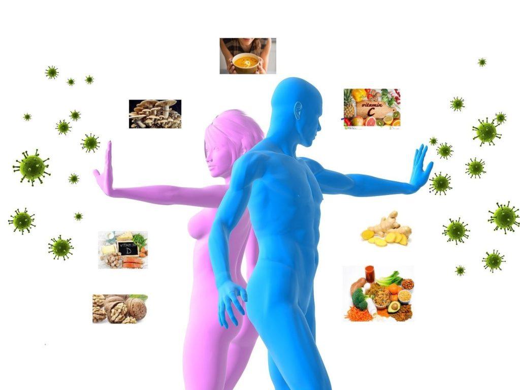 Ushqimi dhe sistemi imunitar në periudhën e Coronavirusit – Dr. Fatjona Rrasa Dr. Vezika Cenaj